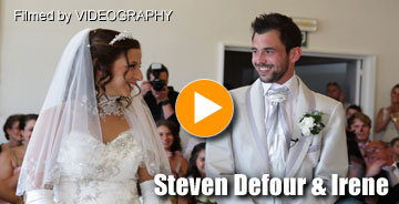 Huwelijk Steven Defour &amp; Irene